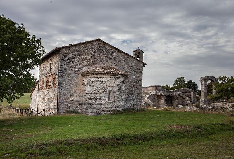 Carsulae Chiesa dei Santi Cosma e Damiano
